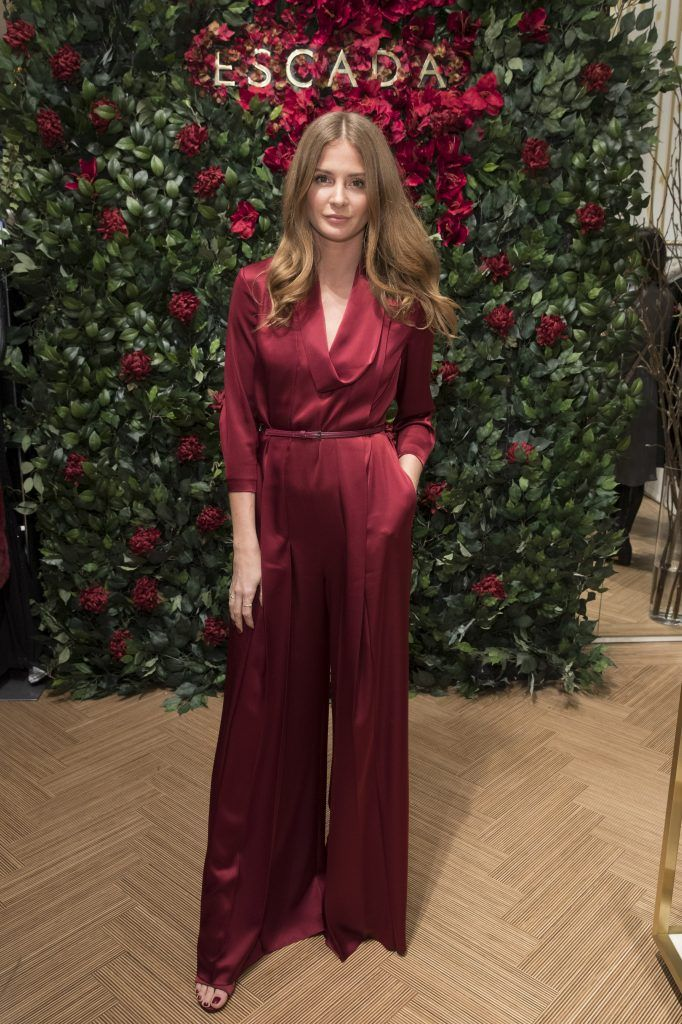 Millie Mackintosh attends New Flagship Store Opening of Luxury Fashion Brand ESCADA, on Sloane Street on November 15, 2017 in London, England.  (Photo by John Phillips/John Phillips/Getty Images for Escada)