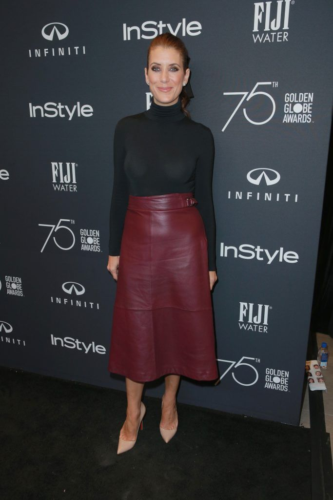 Kate Walsh attends the Hollywood Foreign Press Association and InStyle celebrate the 75th Anniversary of The Golden Globe Awards at Catch LA on November 15, 2017 in West Hollywood, California.  (Photo by Rich Fury/Getty Images)