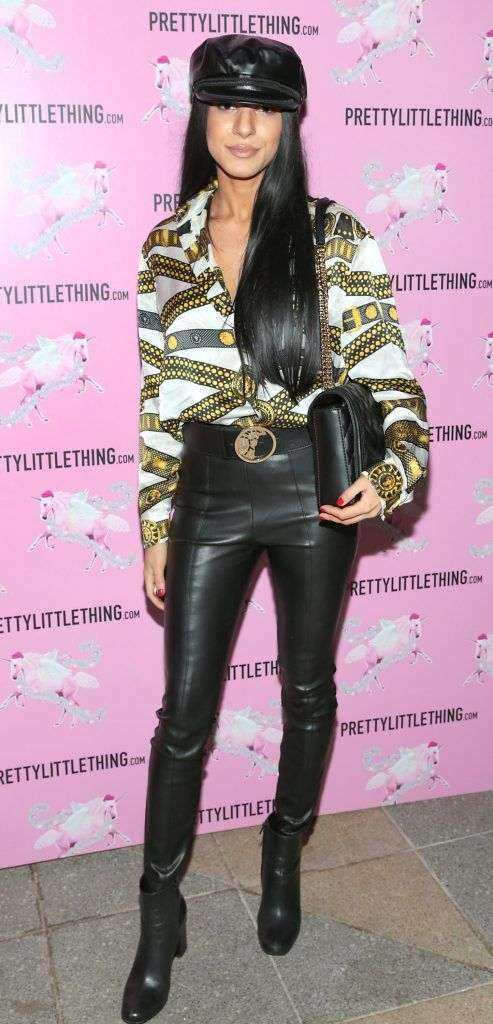 Roberta Ciuraru pictured at the PrettyLittleThing party at the Opium Rooms, Dublin. Photo: Brian McEvoy