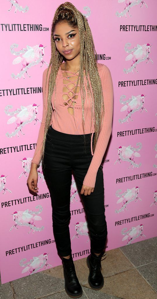 Mona Lixsa pictured at the PrettyLittleThing party at the Opium Rooms, Dublin. Photo: Brian McEvoy