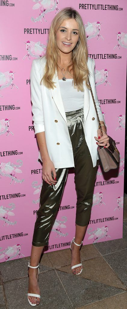 Louise Cooney pictured at the PrettyLittleThing party at the Opium Rooms, Dublin. Photo: Brian McEvoy