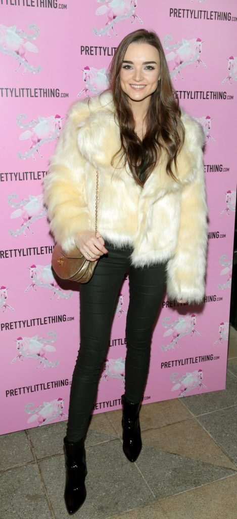 Niamh O Sullivan pictured at the PrettyLittleThing party at the Opium Rooms, Dublin. Photo: Brian McEvoy