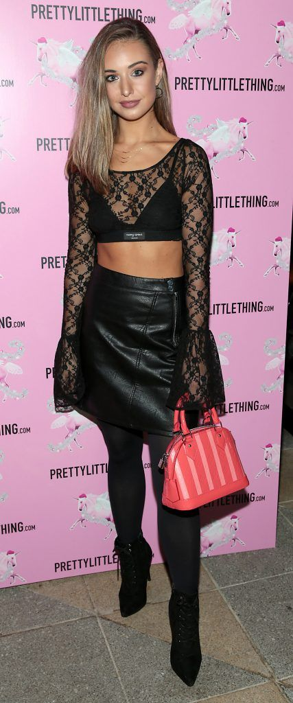 Zoe Palmer pictured at the PrettyLittleThing party at the Opium Rooms, Dublin. Photo: Brian McEvoy