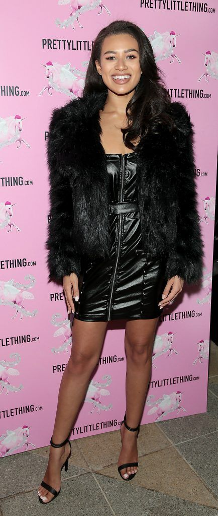 Montana Brown pictured at the PrettyLittleThing party at the Opium Rooms, Dublin. Photo: Brian McEvoy