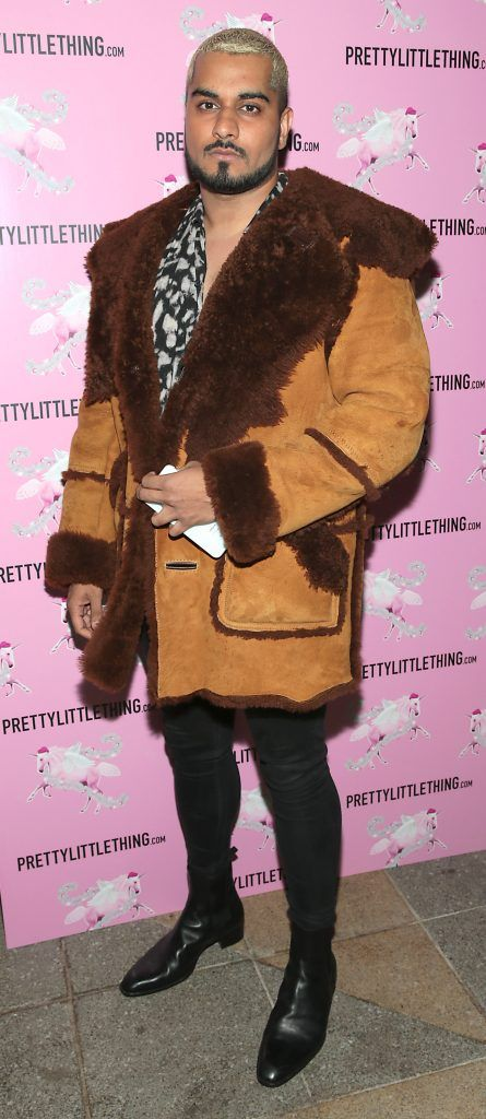 Umar Kamani pictured at the PrettyLittleThing party at the Opium Rooms, Dublin. Photo: Brian McEvoy