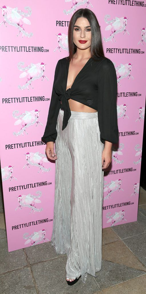 Lynne Kelly pictured at the PrettyLittleThing party at the Opium Rooms, Dublin. Photo: Brian McEvoy