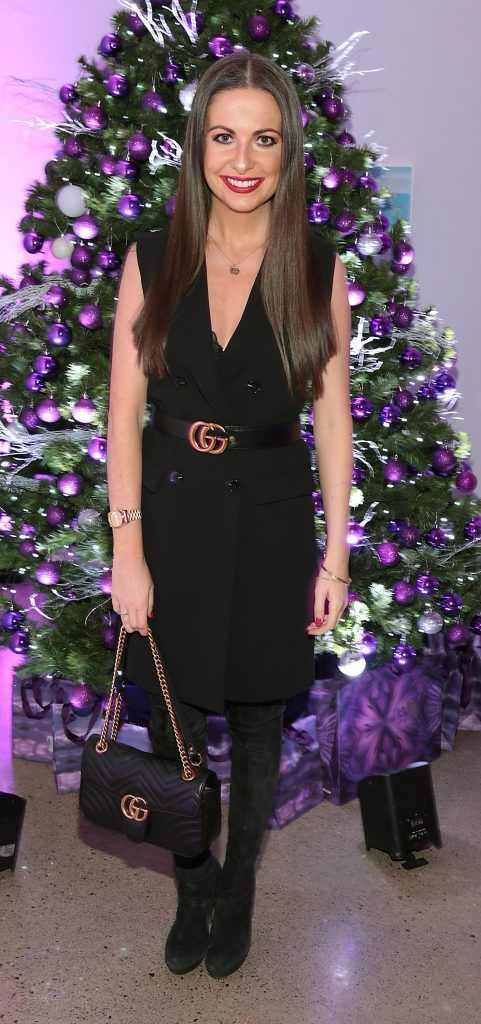 Emily O Donnell at the Urban Decay Naked Palette Christmas Celebration at Chancery Lane, Dublin. Photo: Brian McEvoy