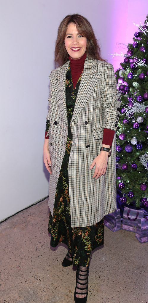 Anne Marie O Connor at the Urban Decay Naked Palette Christmas Celebration at Chancery Lane, Dublin. Photo: Brian McEvoy