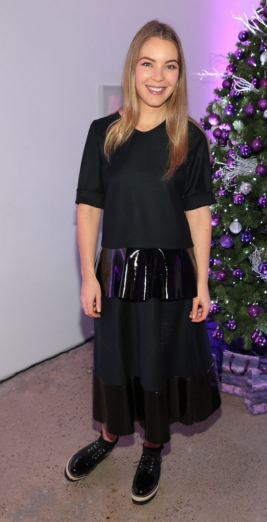 Emma Manley at the Urban Decay Naked Palette Christmas Celebration at Chancery Lane, Dublin. Photo: Brian McEvoy