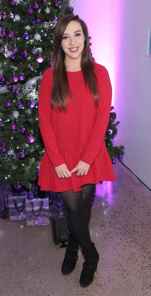 Erin Healy at the Urban Decay Naked Palette Christmas Celebration at Chancery Lane, Dublin. Photo: Brian McEvoy