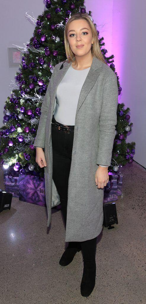 Jennifer Healy Hayes at the Urban Decay Naked Palette Christmas Celebration at Chancery Lane, Dublin. Photo: Brian McEvoy
