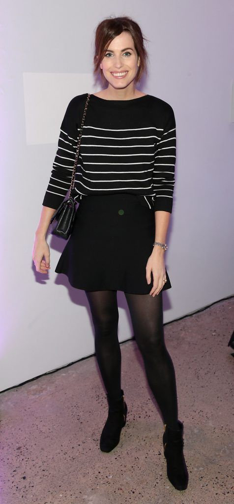 Holly White at the Urban Decay Naked Palette Christmas Celebration at Chancery Lane, Dublin. Photo: Brian McEvoy