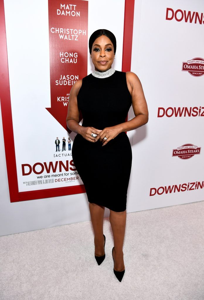 "Niecy Nash attends the premiere of Paramount Pictures' ""Downsizing"" at Regency Village Theatre on December 18, 2017 in Westwood, California.  (Photo by Emma McIntyre/Getty Images)"