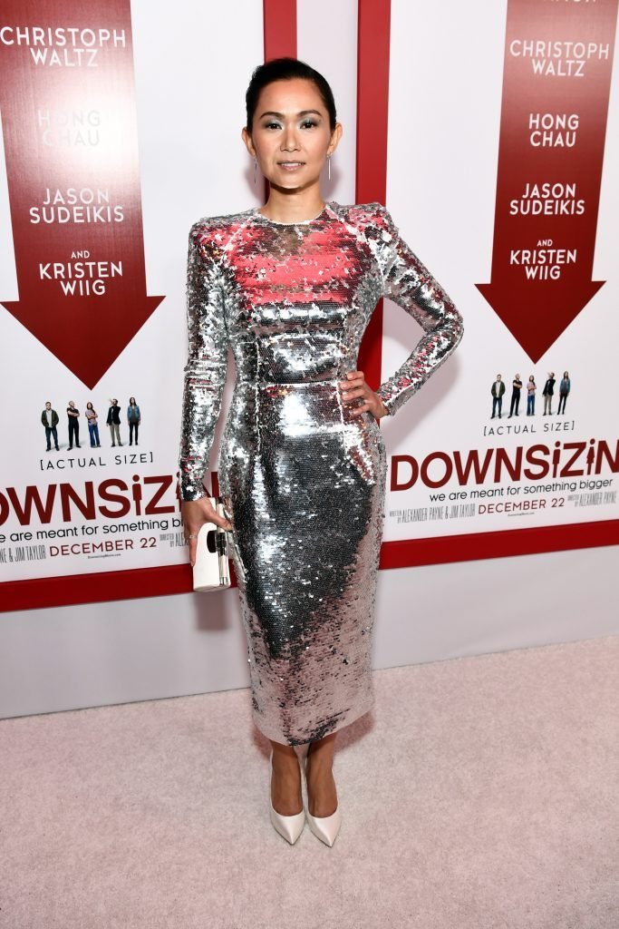 "Hong Chau attends the premiere of Paramount Pictures' ""Downsizing"" at Regency Village Theatre on December 18, 2017 in Westwood, California.  (Photo by Emma McIntyre/Getty Images)"