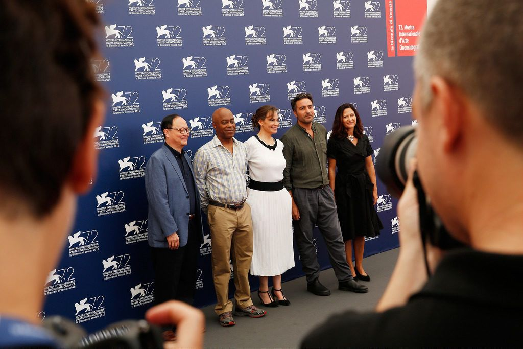 Jury photocall for the 72nd venice film festival for Daniela costanzo
