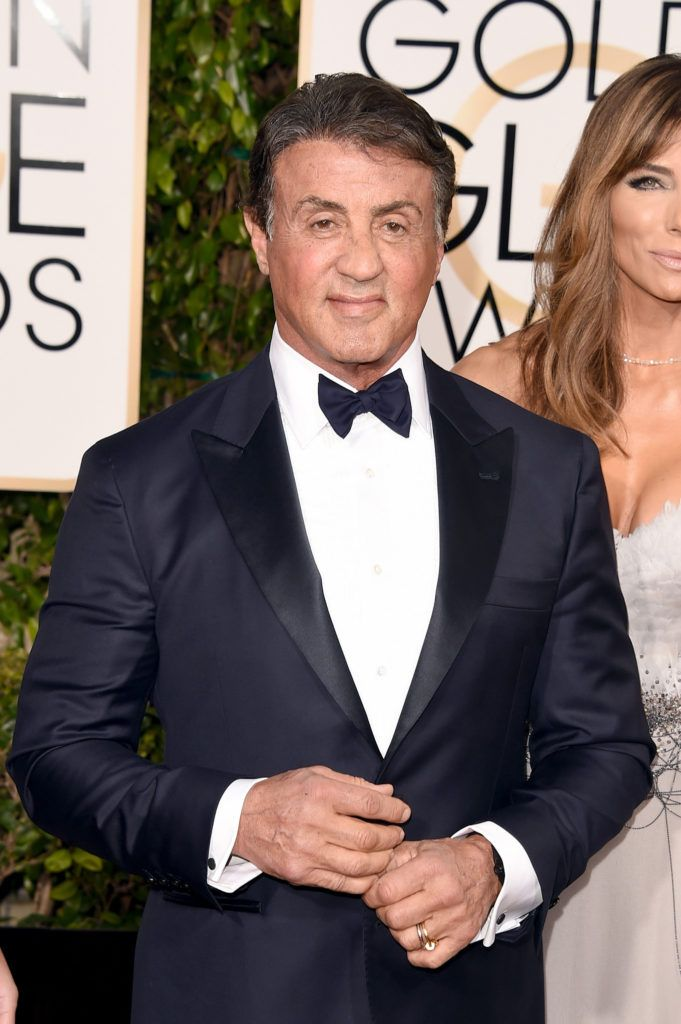 BEVERLY HILLS, CA - JANUARY 10:  Actor Sylvester Stallone attends the 73rd Annual Golden Globe Awards held at the Beverly Hilton Hotel on January 10, 2016 in Beverly Hills, California.  (Photo by Jason Merritt/Getty Images)