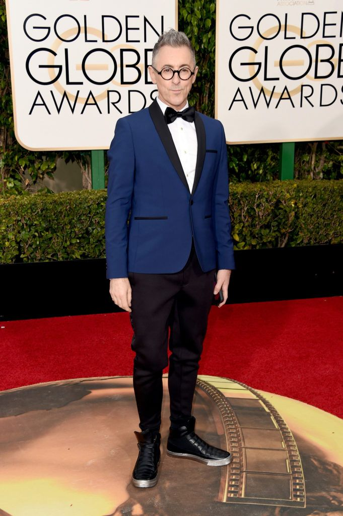 BEVERLY HILLS, CA - JANUARY 10:  Actor Alan Cumming attends the 73rd Annual Golden Globe Awards held at the Beverly Hilton Hotel on January 10, 2016 in Beverly Hills, California.  (Photo by Jason Merritt/Getty Images)