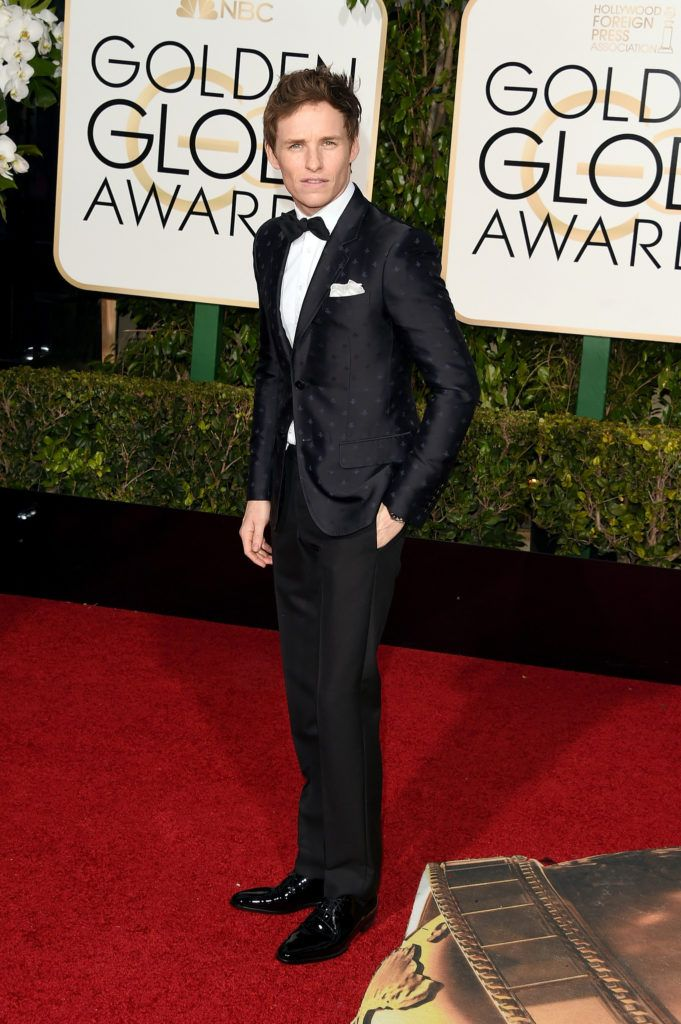 BEVERLY HILLS, CA - JANUARY 10:  Actor Eddie Redmayne attends the 73rd Annual Golden Globe Awards held at the Beverly Hilton Hotel on January 10, 2016 in Beverly Hills, California.  (Photo by Jason Merritt/Getty Images)