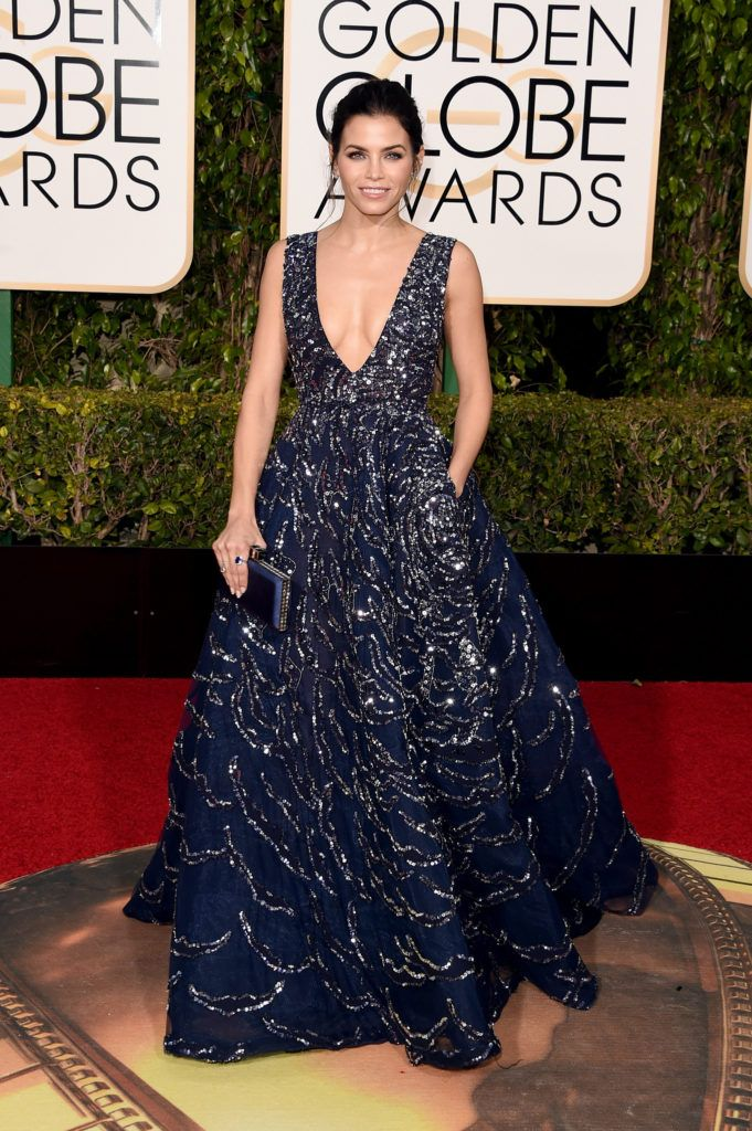 BEVERLY HILLS, CA - JANUARY 10:  Actress Jenna Dewan Tatum attends the 73rd Annual Golden Globe Awards held at the Beverly Hilton Hotel on January 10, 2016 in Beverly Hills, California.  (Photo by Jason Merritt/Getty Images)