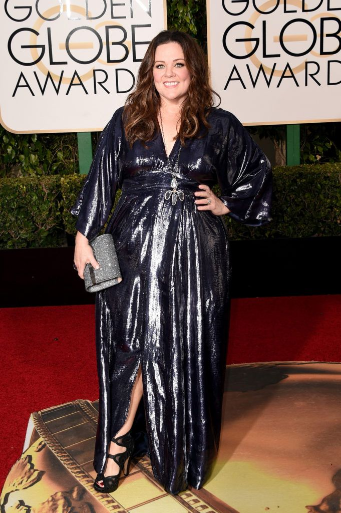 BEVERLY HILLS, CA - JANUARY 10:  Actress Melissa McCarthy attends the 73rd Annual Golden Globe Awards held at the Beverly Hilton Hotel on January 10, 2016 in Beverly Hills, California.  (Photo by Jason Merritt/Getty Images)