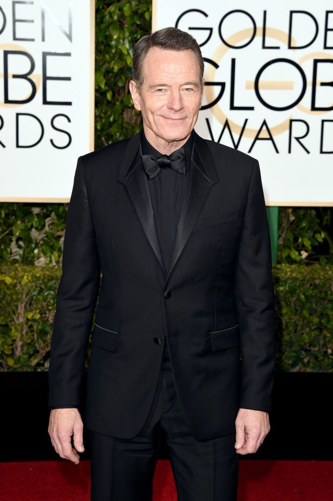 BEVERLY HILLS, CA - JANUARY 10:  Actor Bryan Cranston attends the 73rd Annual Golden Globe Awards held at the Beverly Hilton Hotel on January 10, 2016 in Beverly Hills, California.  (Photo by Jason Merritt/Getty Images)