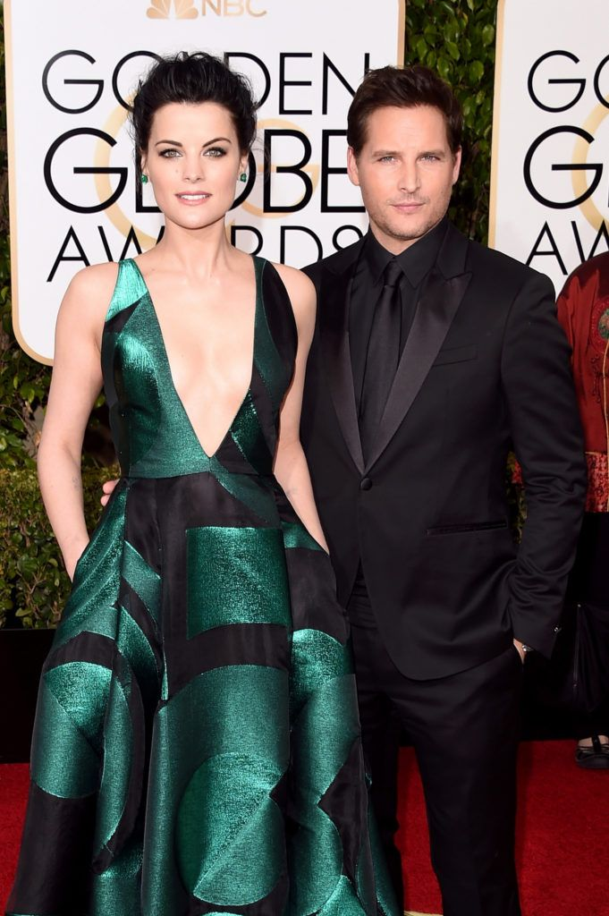 BEVERLY HILLS, CA - JANUARY 10:  Actors Jaimie Alexander and Peter Facinelli  attend the 73rd Annual Golden Globe Awards held at the Beverly Hilton Hotel on January 10, 2016 in Beverly Hills, California.  (Photo by Jason Merritt/Getty Images)