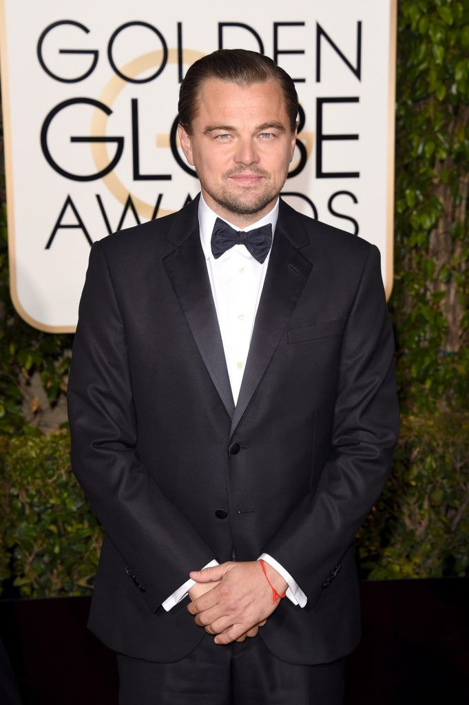 BEVERLY HILLS, CA - JANUARY 10:  Actor Leonardo DiCaprio attends the 73rd Annual Golden Globe Awards held at the Beverly Hilton Hotel on January 10, 2016 in Beverly Hills, California.  (Photo by Jason Merritt/Getty Images)
