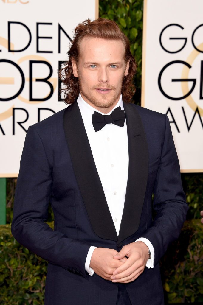 BEVERLY HILLS, CA - JANUARY 10:  Actor Sam Heughan attends the 73rd Annual Golden Globe Awards held at the Beverly Hilton Hotel on January 10, 2016 in Beverly Hills, California.  (Photo by Jason Merritt/Getty Images)
