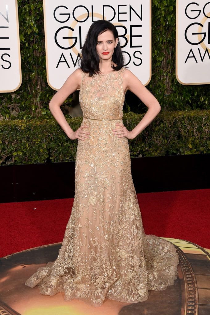 BEVERLY HILLS, CA - JANUARY 10:  Actress Eva Green attends the 73rd Annual Golden Globe Awards held at the Beverly Hilton Hotel on January 10, 2016 in Beverly Hills, California.  (Photo by Jason Merritt/Getty Images)
