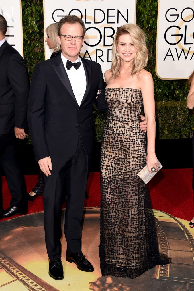 BEVERLY HILLS, CA - JANUARY 10:  Director Tom McCarthy (L) attends the 73rd Annual Golden Globe Awards held at the Beverly Hilton Hotel on January 10, 2016 in Beverly Hills, California.  (Photo by Jason Merritt/Getty Images)