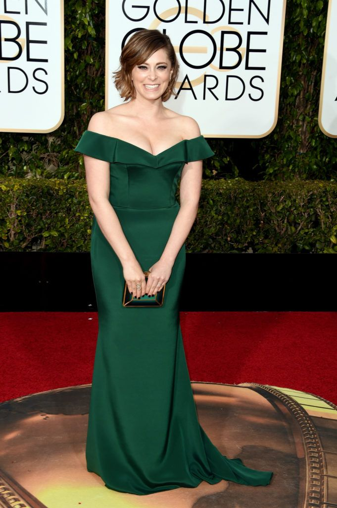 BEVERLY HILLS, CA - JANUARY 10:  Actress Rachel Bloom attends the 73rd Annual Golden Globe Awards held at the Beverly Hilton Hotel on January 10, 2016 in Beverly Hills, California.  (Photo by Jason Merritt/Getty Images)