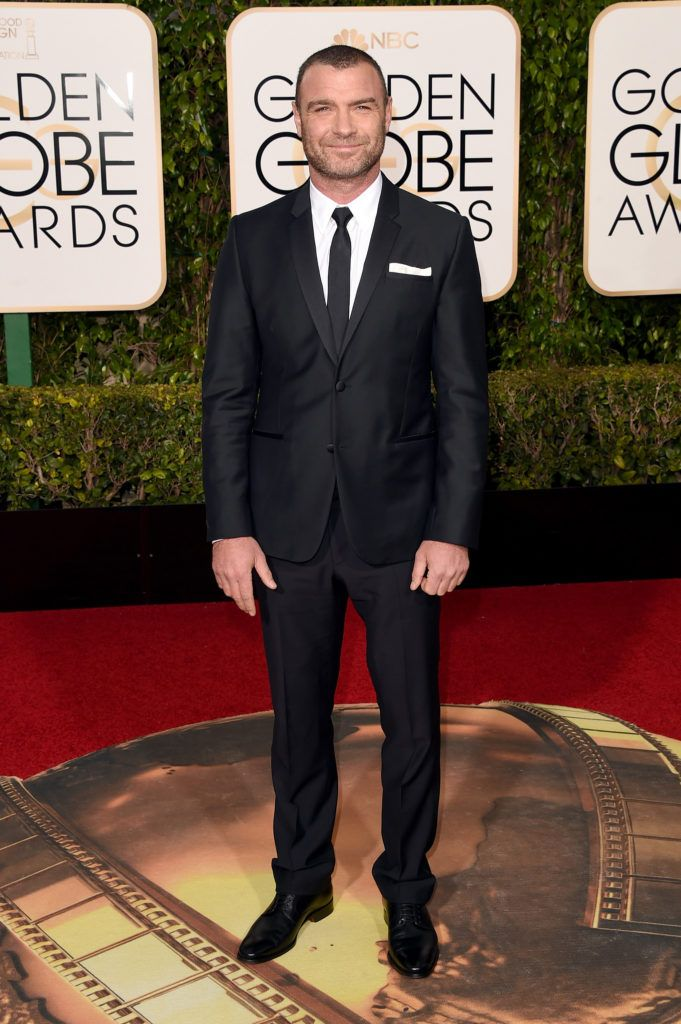 BEVERLY HILLS, CA - JANUARY 10:  Actor Liev Schreiber attends the 73rd Annual Golden Globe Awards held at the Beverly Hilton Hotel on January 10, 2016 in Beverly Hills, California.  (Photo by Jason Merritt/Getty Images)