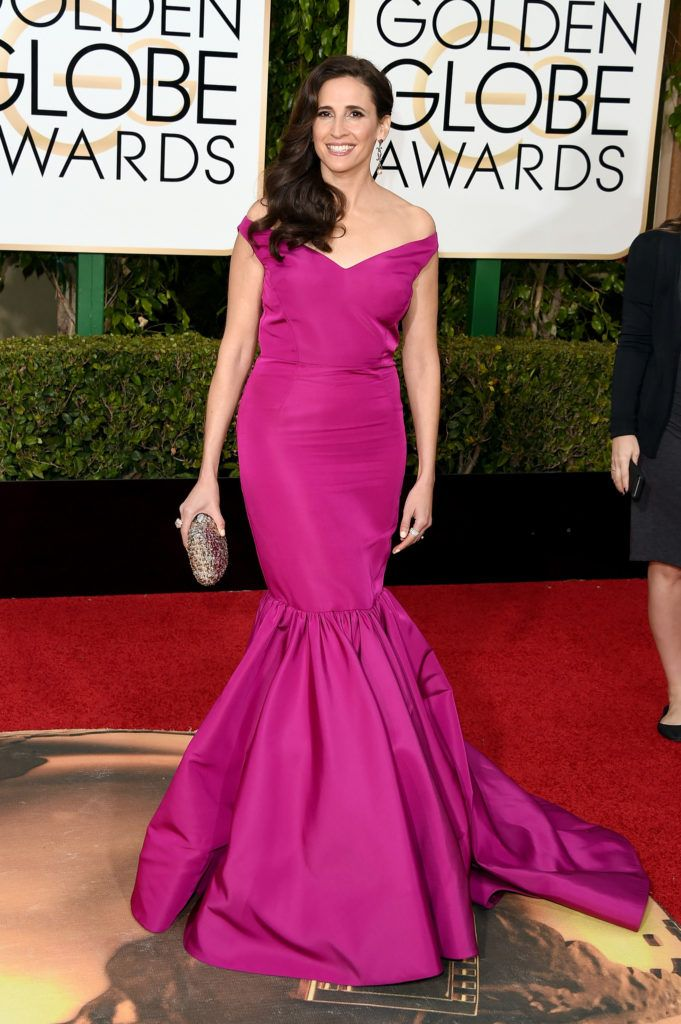 BEVERLY HILLS, CA - JANUARY 10:  Actress Michaela Watkins attends the 73rd Annual Golden Globe Awards held at the Beverly Hilton Hotel on January 10, 2016 in Beverly Hills, California.  (Photo by Jason Merritt/Getty Images)