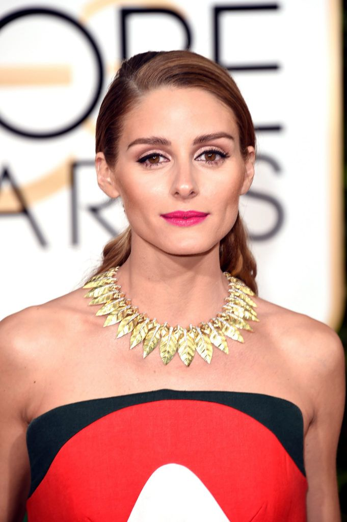 BEVERLY HILLS, CA - JANUARY 10:  Olivia Palermo attends the 73rd Annual Golden Globe Awards held at the Beverly Hilton Hotel on January 10, 2016 in Beverly Hills, California.  (Photo by Jason Merritt/Getty Images)