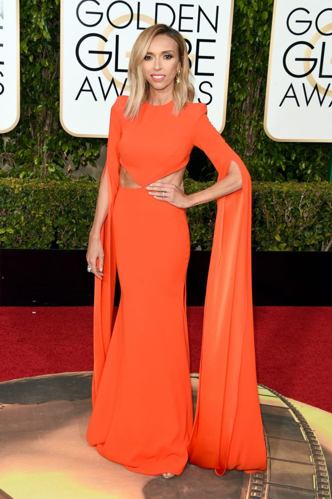 BEVERLY HILLS, CA - JANUARY 10:  TV personality Giuliana Rancic attends the 73rd Annual Golden Globe Awards held at the Beverly Hilton Hotel on January 10, 2016 in Beverly Hills, California.  (Photo by Jason Merritt/Getty Images)