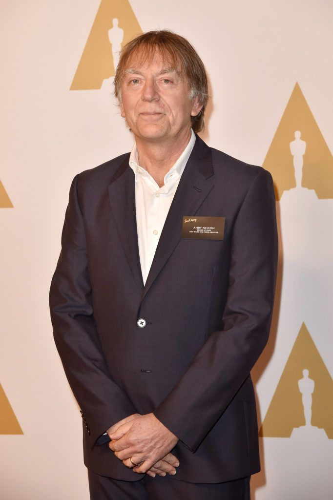 BEVERLY HILLS, CA - FEBRUARY 08:  Sound engineer Andy Nelson attends the 88th Annual Academy Awards nominee luncheon on February 8, 2016 in Beverly Hills, California.  (Photo by Kevin Winter/Getty Images)