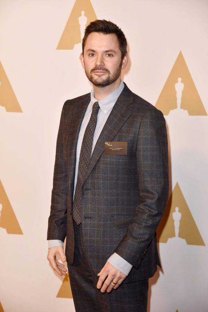BEVERLY HILLS, CA - FEBRUARY 08:  Writer/producer Matt Charman attends the 88th Annual Academy Awards nominee luncheon on February 8, 2016 in Beverly Hills, California.  (Photo by Kevin Winter/Getty Images)