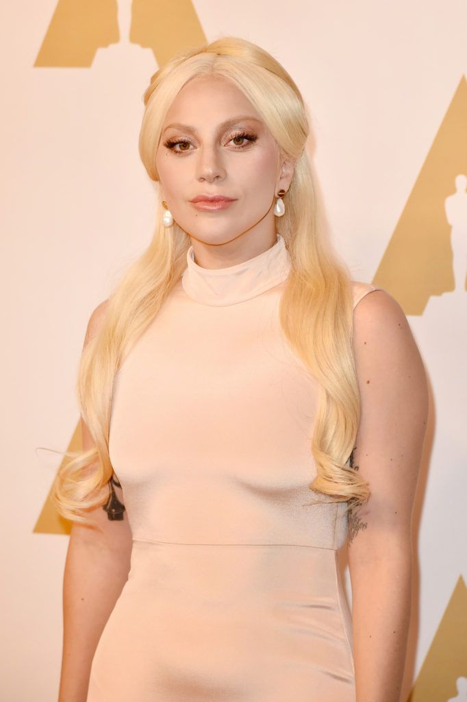 BEVERLY HILLS, CA - FEBRUARY 08:  Singer-songwriter Lady Gaga attends the 88th Annual Academy Awards nominee luncheon on February 8, 2016 in Beverly Hills, California.  (Photo by Kevin Winter/Getty Images)