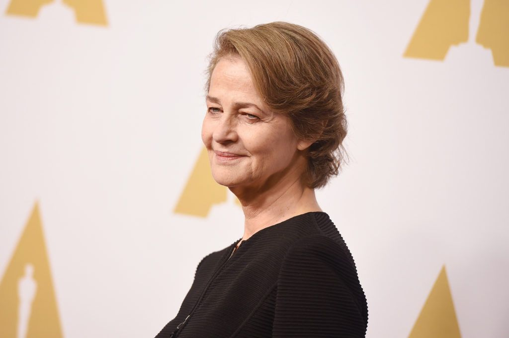 BEVERLY HILLS, CA - FEBRUARY 08:  Actress Charlotte Rampling attends the 88th Annual Academy Awards nominee luncheon on February 8, 2016 in Beverly Hills, California.  (Photo by Kevin Winter/Getty Images)