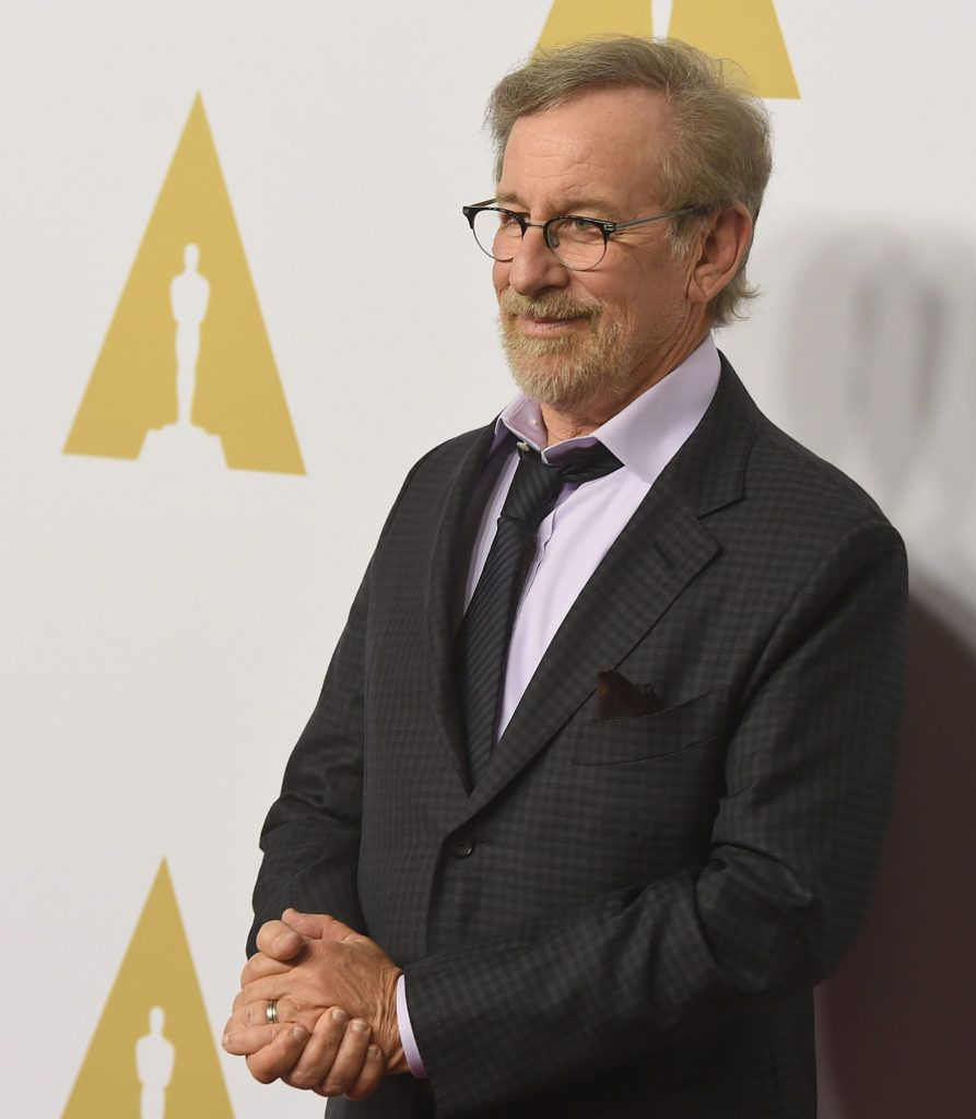 BEVERLY HILLS, CA - FEBRUARY 08:  Director Steven Spielberg attends the 88th Annual Academy Awards nominee luncheon on February 8, 2016 in Beverly Hills, California.  (Photo by Kevin Winter/Getty Images)