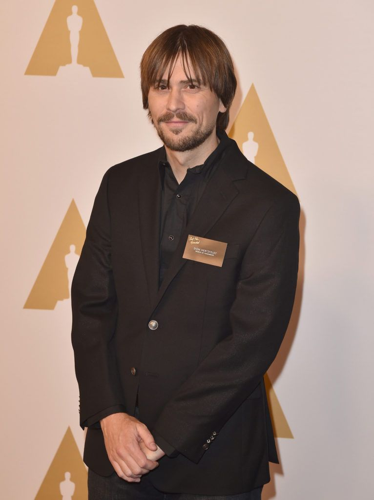 BEVERLY HILLS, CA - FEBRUARY 08:  Director Don Hertzfeldt attends the 88th Annual Academy Awards nominee luncheon on February 8, 2016 in Beverly Hills, California.  (Photo by Kevin Winter/Getty Images)