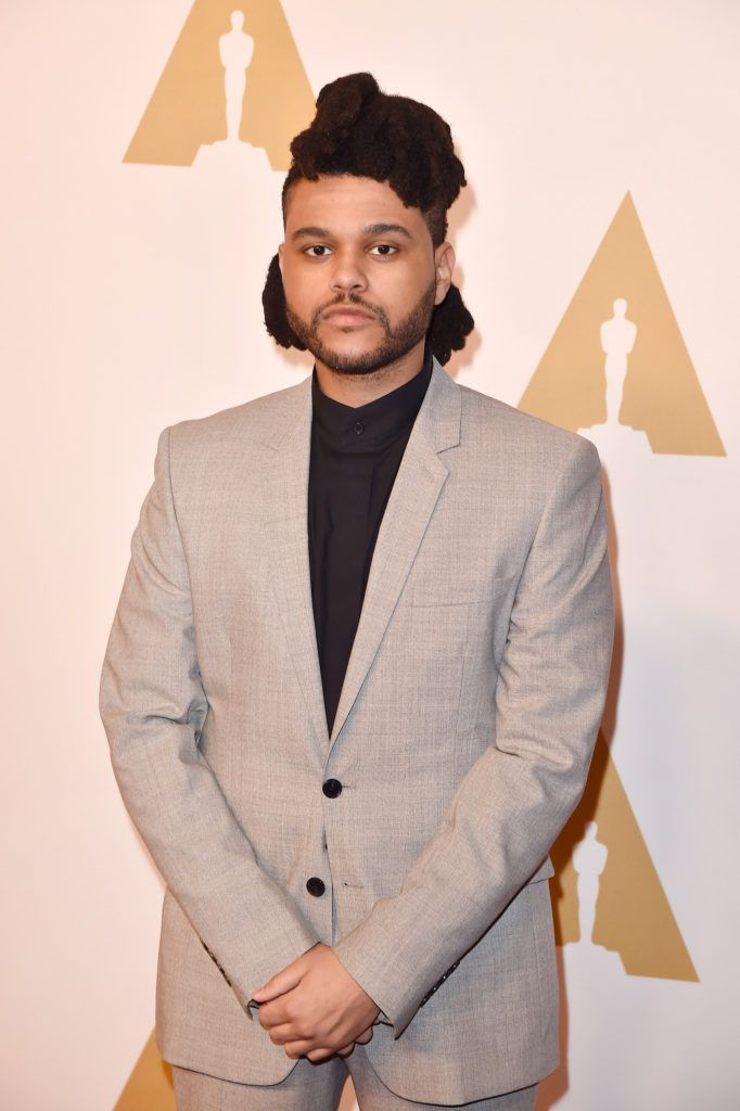 BEVERLY HILLS, CA - FEBRUARY 08:  Singer-songwriter The Weeknd attends the 88th Annual Academy Awards nominee luncheon on February 8, 2016 in Beverly Hills, California.  (Photo by Kevin Winter/Getty Images)