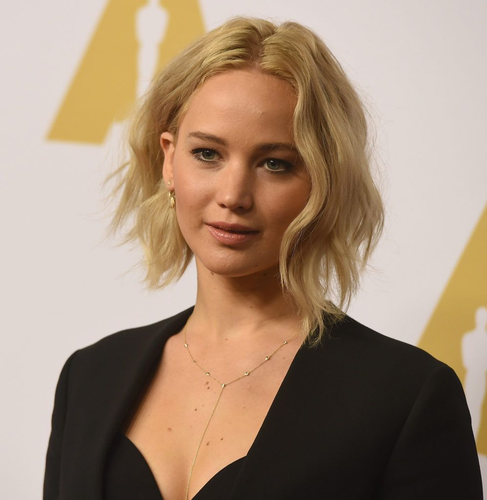 BEVERLY HILLS, CA - FEBRUARY 08:  Actress Jennifer Lawrence attends the 88th Annual Academy Awards nominee luncheon on February 8, 2016 in Beverly Hills, California.  (Photo by Kevin Winter/Getty Images)