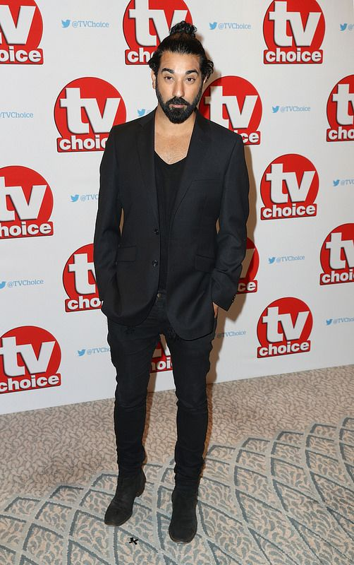 Ray Panthaki arrives for the TV Choice Awards at The Dorchester on September 5, 2016 in London, England. (Photo by Chris Jackson/Getty Images)