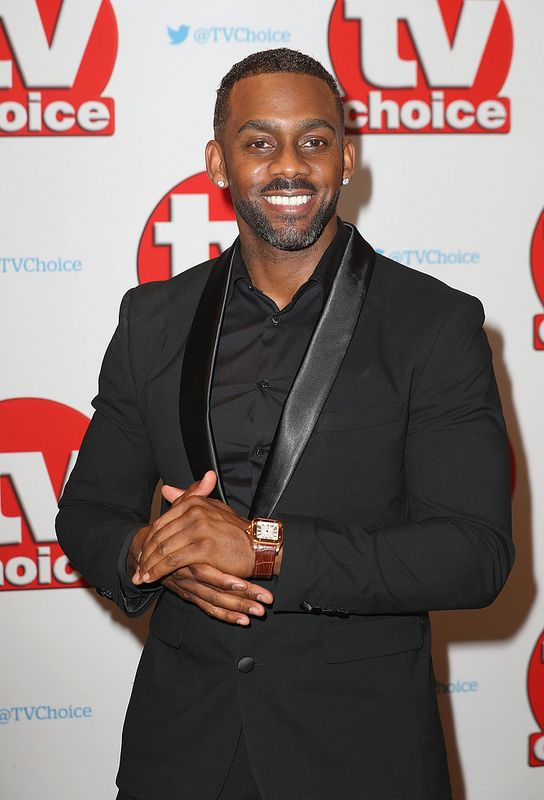 Richard Blackwood arrives for the TV Choice Awards at The Dorchester on September 5, 2016 in London, England. (Photo by Chris Jackson/Getty Images)