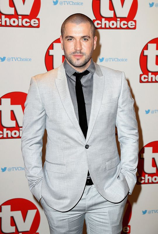 Shayne Ward arrives for the TV Choice Awards at The Dorchester on September 5, 2016 in London, England. (Photo by Chris Jackson/Getty Images)