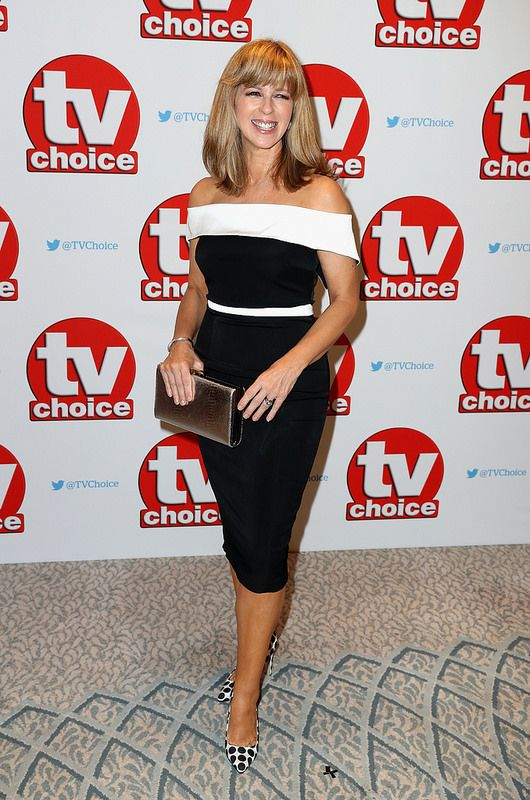 Kate Garraway arrives for the TV Choice Awards at The Dorchester on September 5, 2016 in London, England. (Photo by Chris Jackson/Getty Images)