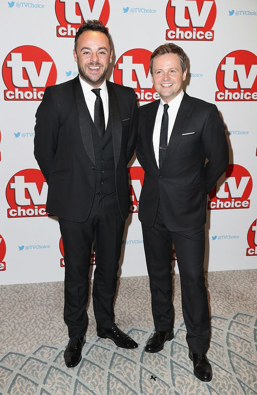 Anthony McPartlin and Declan Donnelly arrive for the TV Choice Awards at The Dorchester on September 5, 2016 in London, England. (Photo by Chris Jackson/Getty Images)