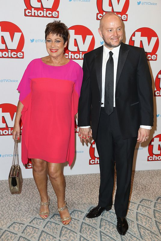 Denise Welch and Lincoln Townley arrive for the TV Choice Awards at The Dorchester on September 5, 2016 in London, England. (Photo by Chris Jackson/Getty Images)
