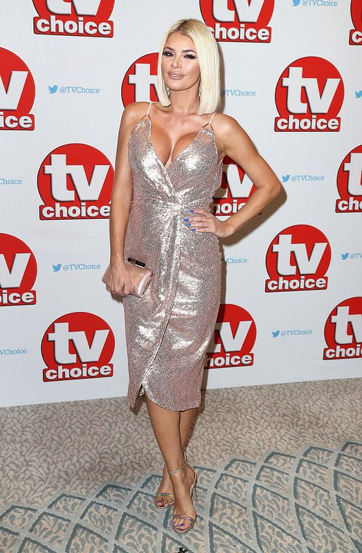 Chloe Sims arrives for the TV Choice Awards at The Dorchester on September 5, 2016 in London, England. (Photo by Chris Jackson/Getty Images) next AdTech Ad
